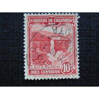 Колумбия. Водопад.