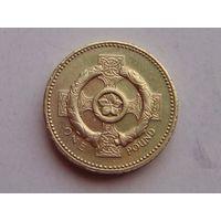 Великобритания 1 фунт 2001