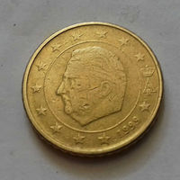 50 евроцентов, Бельгия 1999 г.