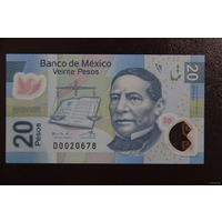 Мексика 20 песо 2016 UNC