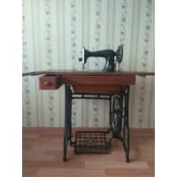 Зингер старинная швейная машинка