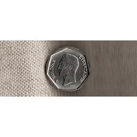 Венесуэла 50 боливаров 2002(Nw)