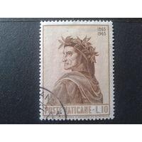 Ватикан 1965 Данте Алигьери