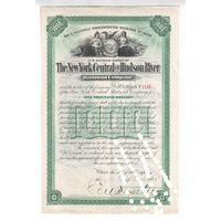 Позапрошлый век!!!  Нью Йорк Централ и Хадсон Ривер (железнодорожная компания)  1000 долларов от 12 января 1899 года