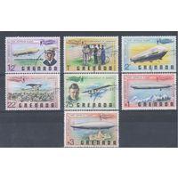 [1445] Гренада 1978.Авиация.Самолеты,дирижабли.   Гашеная серия.