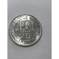 25 сентимос, 1990 г., Венесуэла