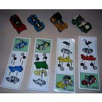 Автомоюили старых марок. Полная серия киндер, 1997 г