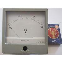 Вольтметр 0-30 V