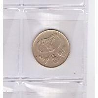5 центов 1987 Кипр. Возможен обмен