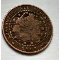 Нидерланды 1 цент, 1900  1-11-40