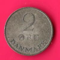 25-14 Дания, 2 эре 1967 г.