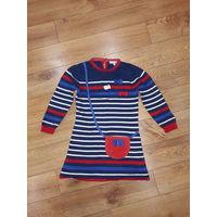 Платье M&S для девочки рост 110-116 см.