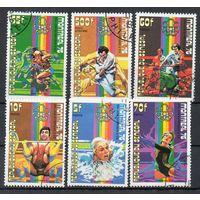 Спорт Сенегал 1976 год серия из 6 марок