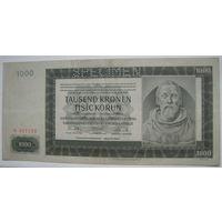 Богемия и Моравия 1000 крон 1942 г. (g)