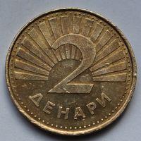 Македония, 2 денара 1993 г