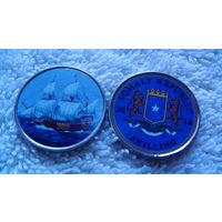 Сомали 1 шилинг 2014г. коллекция парусников #3. распродажа