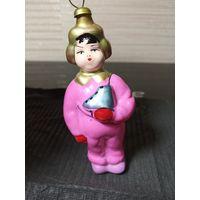 """РЕДКАЯ игрушка """"Мальчик с коньками"""""""