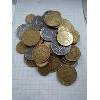 Монеты Украины. С рубля.