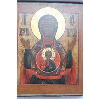 Икона Знамение Божьей Матери , 19 век, аналой.
