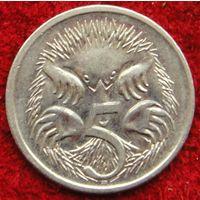 7317:  5 центов 2002 Австралия