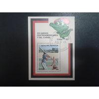 Никарагуа 1982 спорт. игры на Кубе, блок