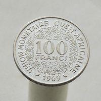 Центральная Африка 100 франков 1969