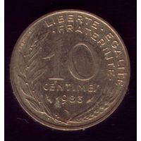 10 сантимов 1983 год Франция