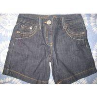 Шорты джинсовые на 7 лет рост 122см