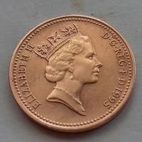 1 пенни, Великобритания 1995 г, AU
