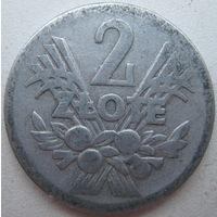 Польша 2 злотых 1958 г. (g)