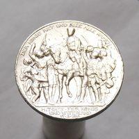 Германия 3 марки 1913 100-летие победы над Францией СЕРЕБРО