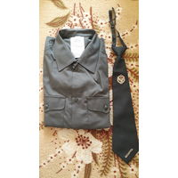 Рубашка и галстук военные