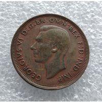 Австралия 1/2 пенни 1948 г. #1019