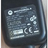 Оригинальное сетевое зарядное устройство Motorola SPN5296A