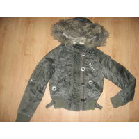 Классная короткая куртка  фирмы House Польша р-р S. Старт с 3 у.е.!