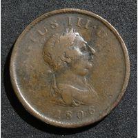 Великобритания 1 пенни, 1806