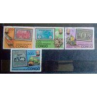 Конго 1979 Железная дорога Исторические события 100 лет смерти реформатора Роуленда Хилла