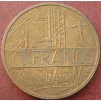 6138:  10 франков 1977  Франция