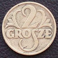 2 гроша 1928 ПОЛЬША - не частый год !!!