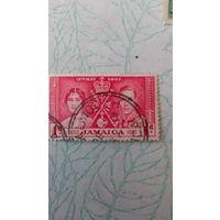 Старая марка Ямайка 8