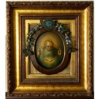 """Икона """"Господь Саваоф"""". Центральная Россия, XIX век"""