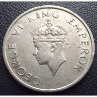 Индия. 1\2 рупии 1946