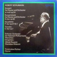 Robert Schumann, Swjatoslaw Richter, Konzert Fur Klavier Und Orchester A-moll Op. 54, LP 1976