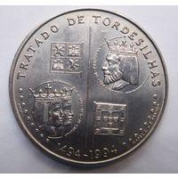 Португалия 200 эскудо 1994 г. Тордесильясский договор.