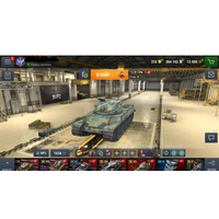 WOT BLITZ аккаунт с премиум и коллекционными танками