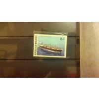 Транспорт, корабли, флот, марка, Мальдивы