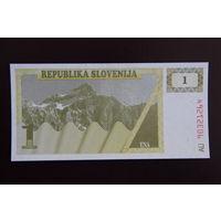 Словения 1 толар 1990 UNC