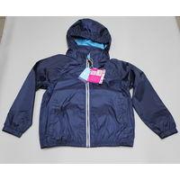 Куртка ветровка-дождевик детская Kozi Kidz синяя