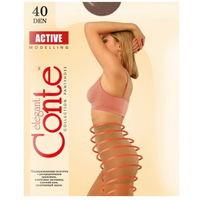 Колготки Conte Active, 40 Den, р-р 6, mocca