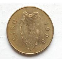 Ирландия 20 пенсов, 1998 4-3-15
